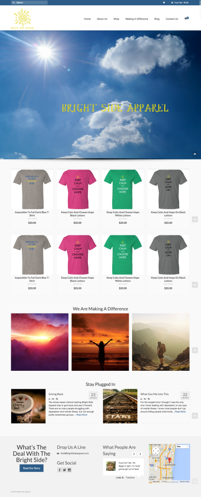 screen capture bright side apparel